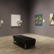 Installation Shot of Modern Art Gallery
