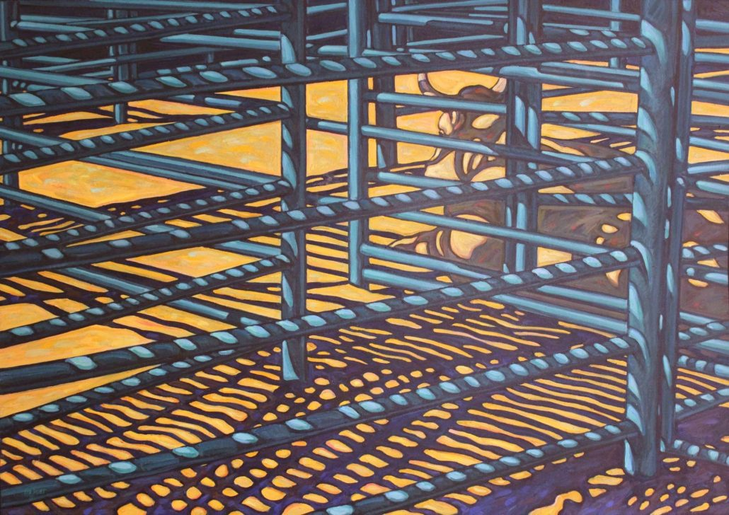 Howard Post, The Bull Pen, 1978