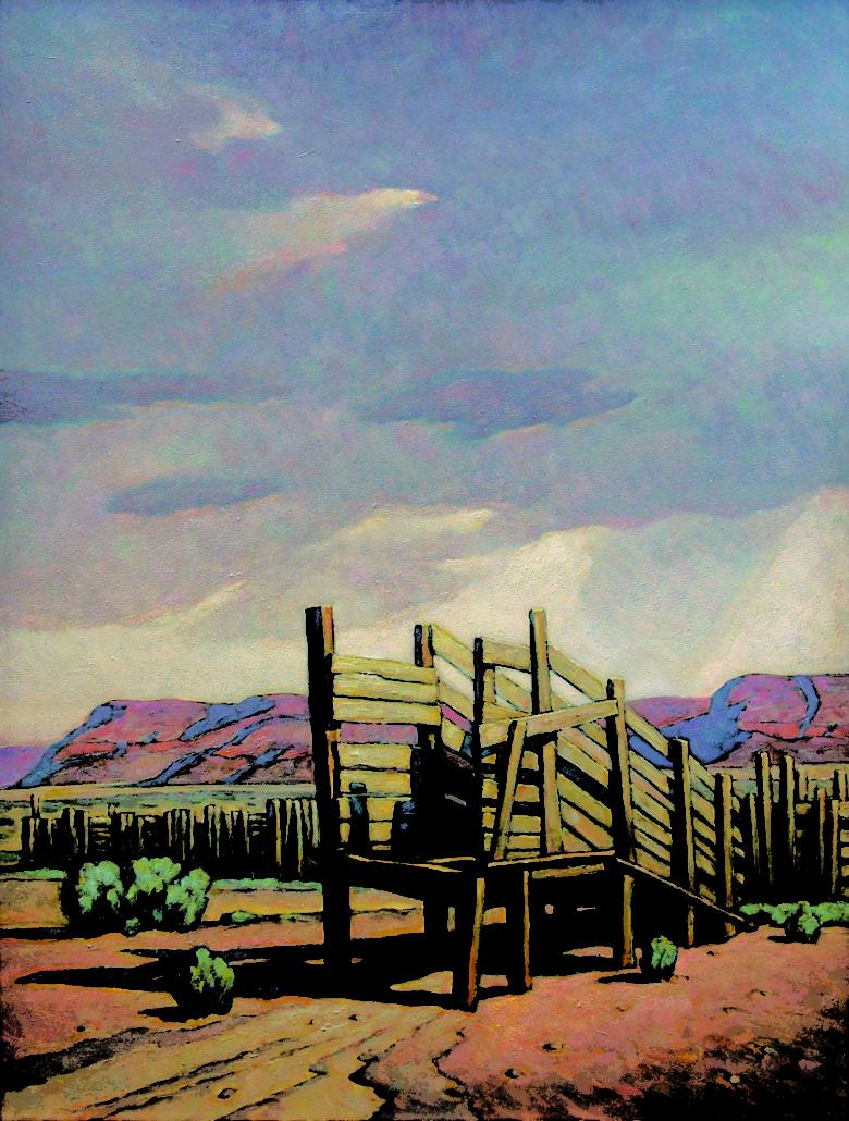 Howard Post, Distant Storm, 2013