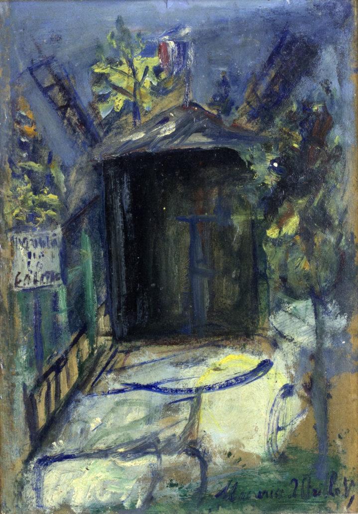 Maurice Utrillo, Le Moulin de Galette, 1918