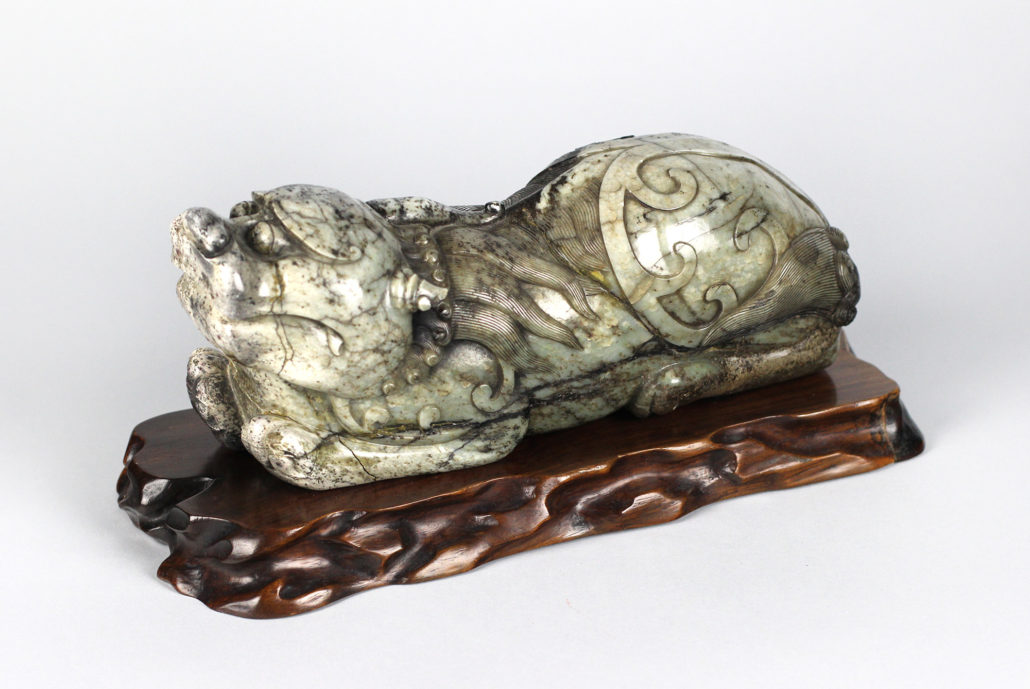 China, Late Ming/ Early Qing Dynasty, 1644 – 1700, Mythical Lion-like Animal