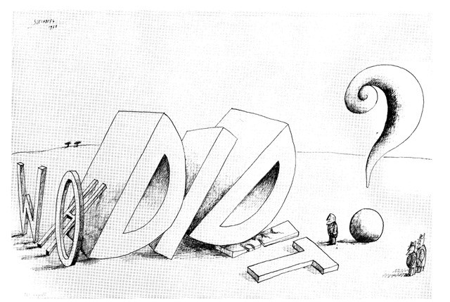 Saul Steinberg - Who DId It?