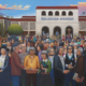 David Bradley, The Tradition Lives On, 2007 acrylic on canvas, 36 x 72.5 in. Heard Museum Collection, Gift of Alice J. Fleet Dickey Courtesy of the Artist