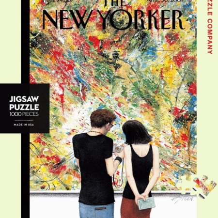 New Yorker magazine cover jigsaw puzzle