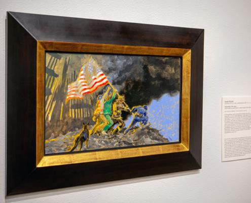 September 11 by Jamie Wyeth