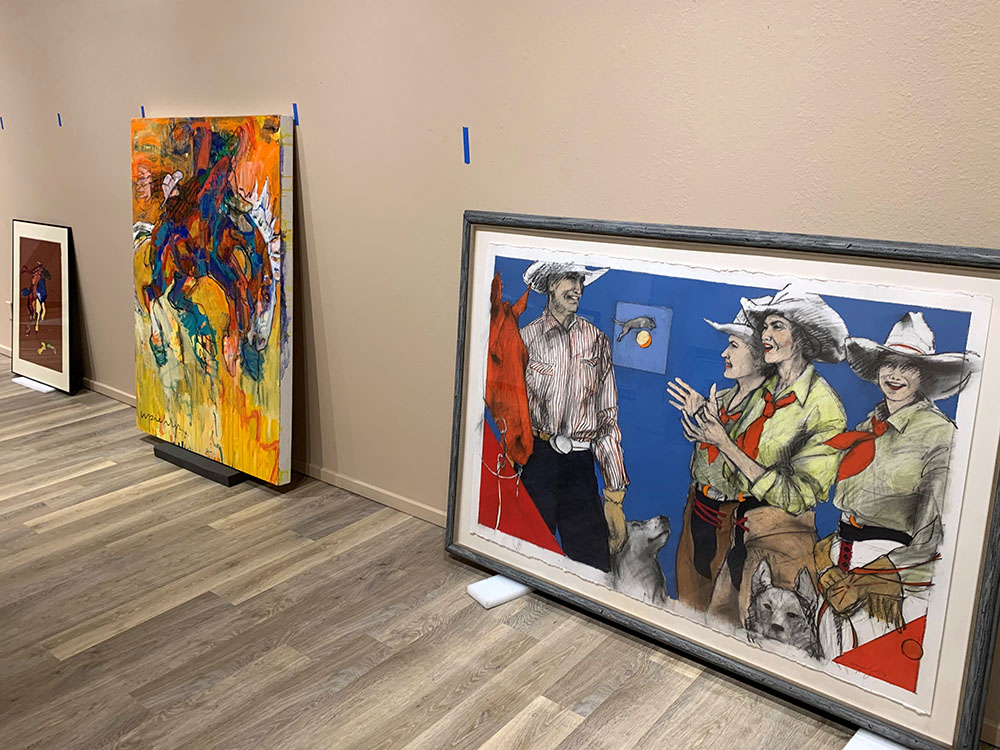 Reinstallation of the Hamilton Gallery, Art of the American West